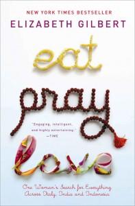eat pray love - travel books