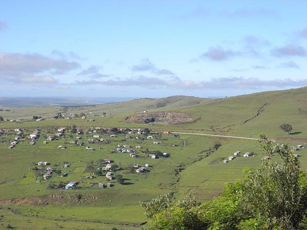 Transkei village