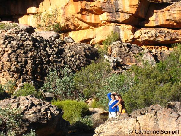 Cederberg rock formations