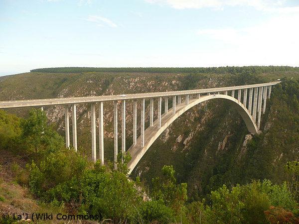 Bloukrans Bungee Jump, South African road trip