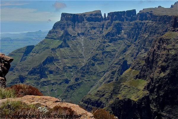 Drakensberg Mountains, South African road trip