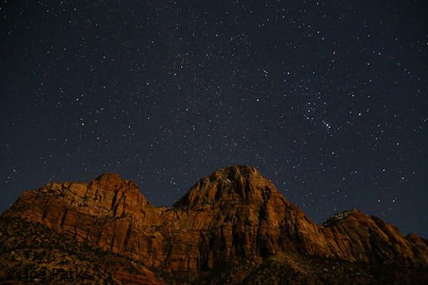 starry night skies in the Cederberg